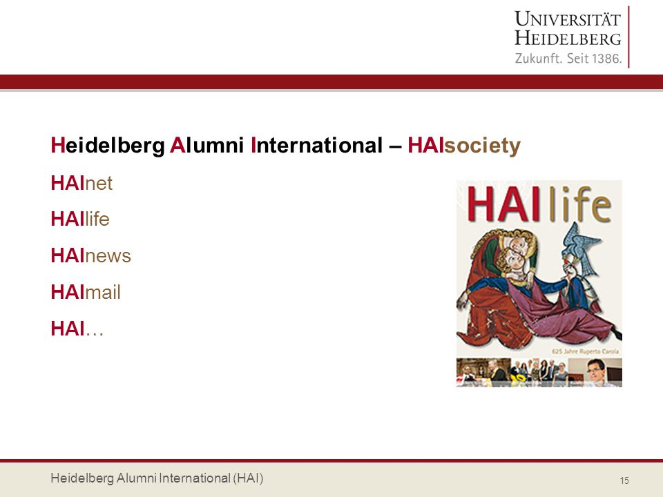 Heidelberg Alumni International – HAIsociety