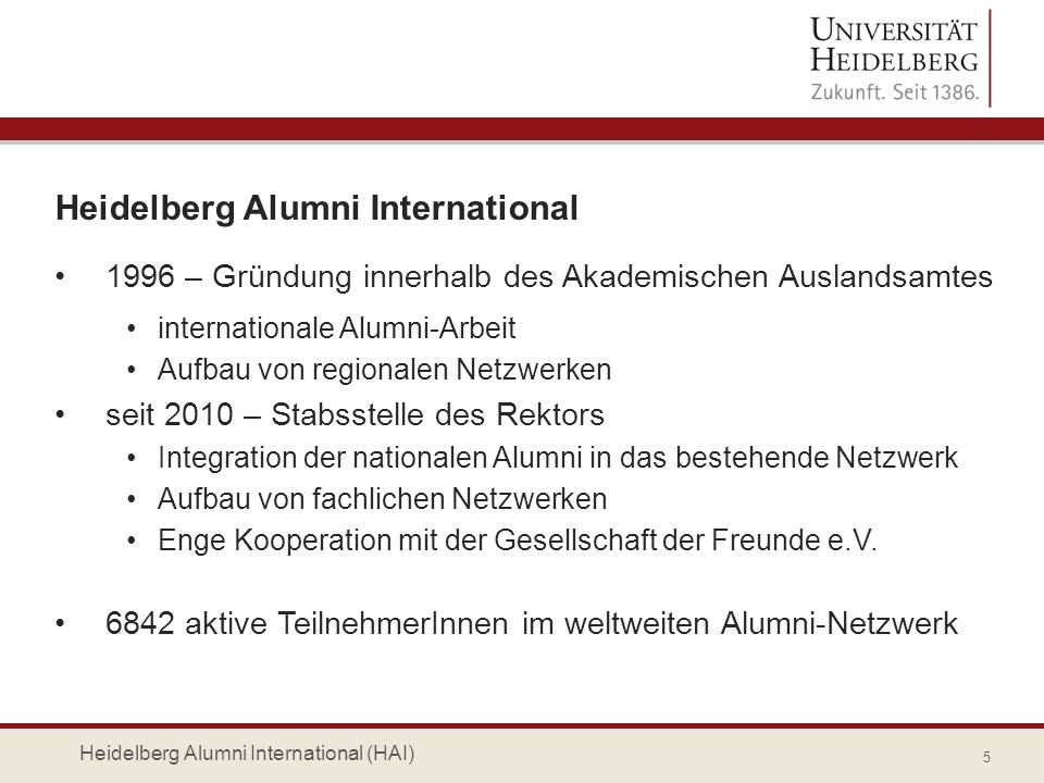 Heidelberg Alumni International