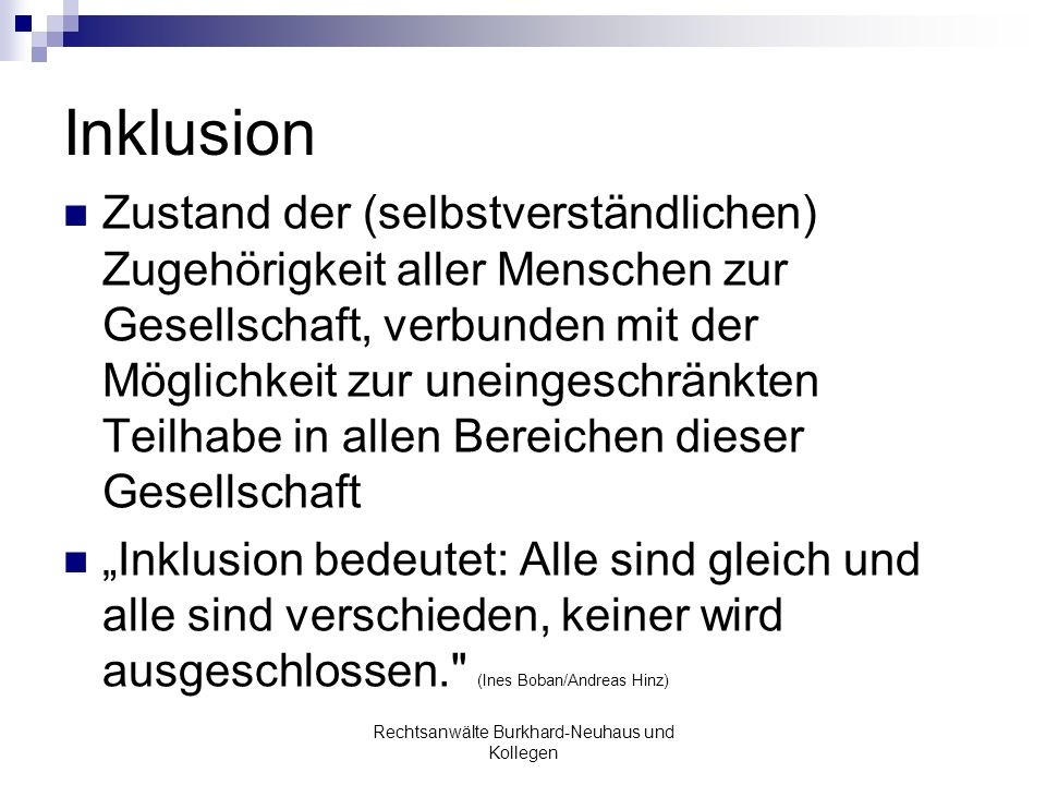 Rechtsanwälte Burkhard-Neuhaus und Kollegen