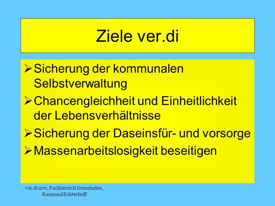 ver.di nrw, Fachbereich Gemeinden, Raimund Echterhoff