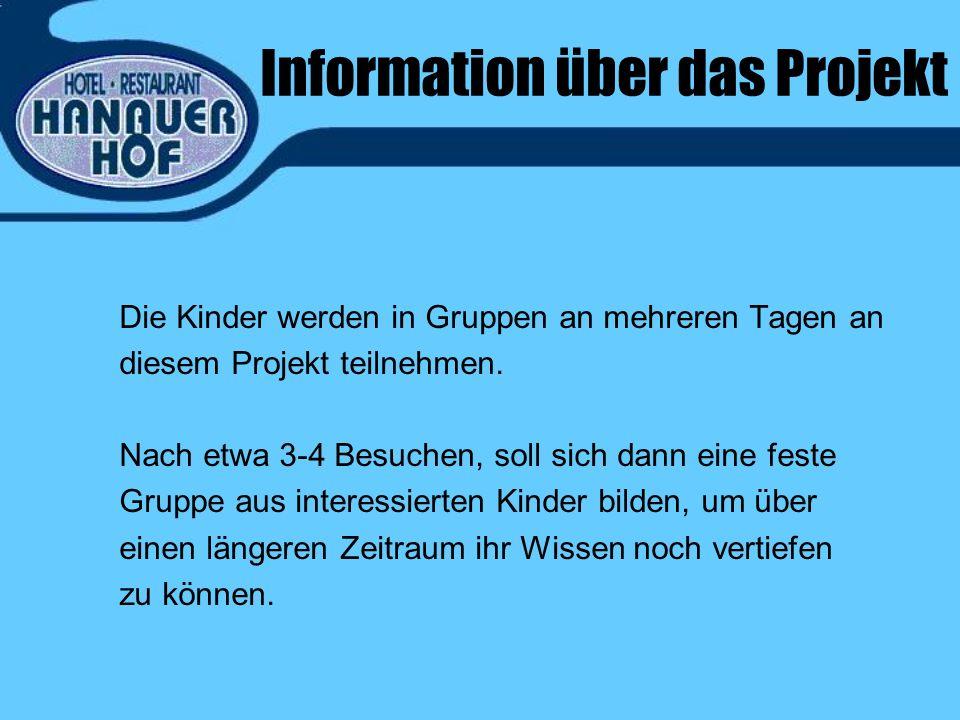 Information über das Projekt