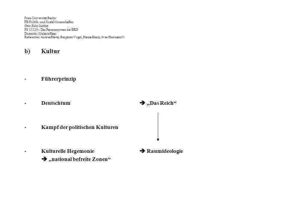 """Kultur Führerprinzip Deutschtum  """"Das Reich"""