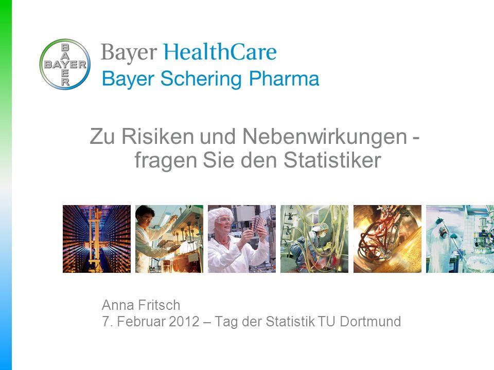 Anna Fritsch 7. Februar 2012 – Tag der Statistik TU Dortmund