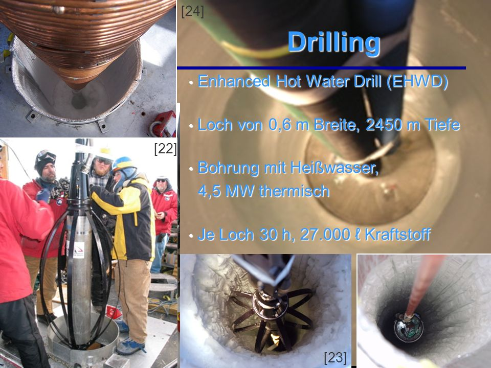 Drilling Enhanced Hot Water Drill (EHWD)