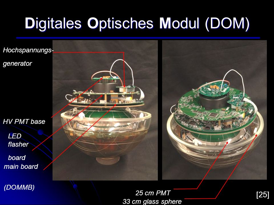 Digitales Optisches Modul (DOM)