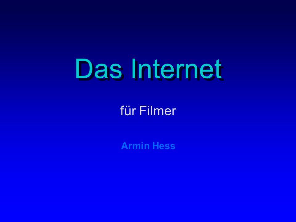 Das Internet für Filmer Armin Hess