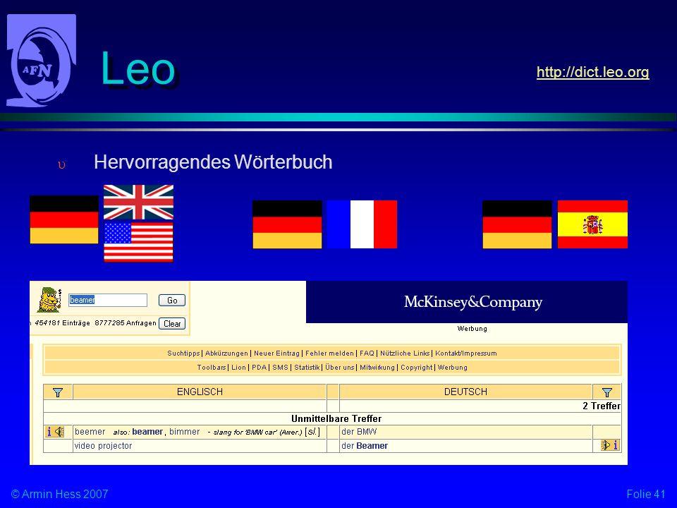 Leo http://dict.leo.org Hervorragendes Wörterbuch