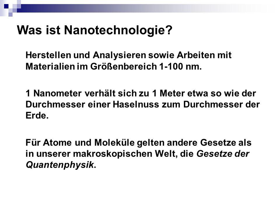 Was ist Nanotechnologie