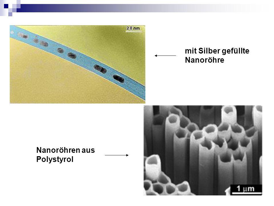 mit Silber gefüllte Nanoröhre