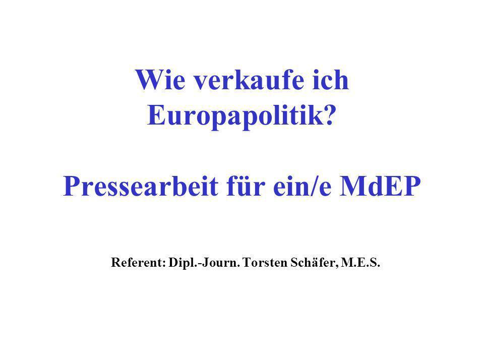 Wie verkaufe ich Europapolitik