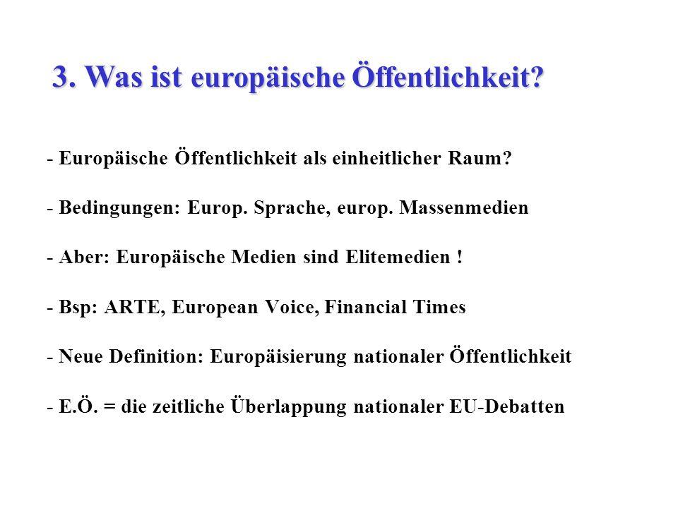 3. Was ist europäische Öffentlichkeit