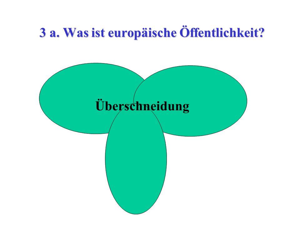 3 a. Was ist europäische Öffentlichkeit