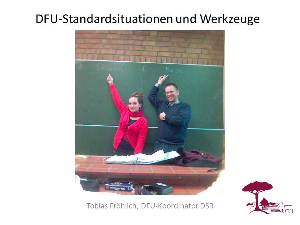 DFU-Standardsituationen und Werkzeuge
