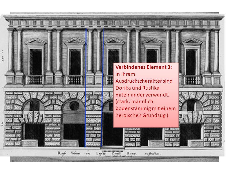 die vorgelegte Ordnung dorischer Säulen.