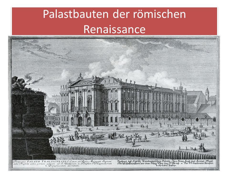 Palastbauten der römischen Renaissance