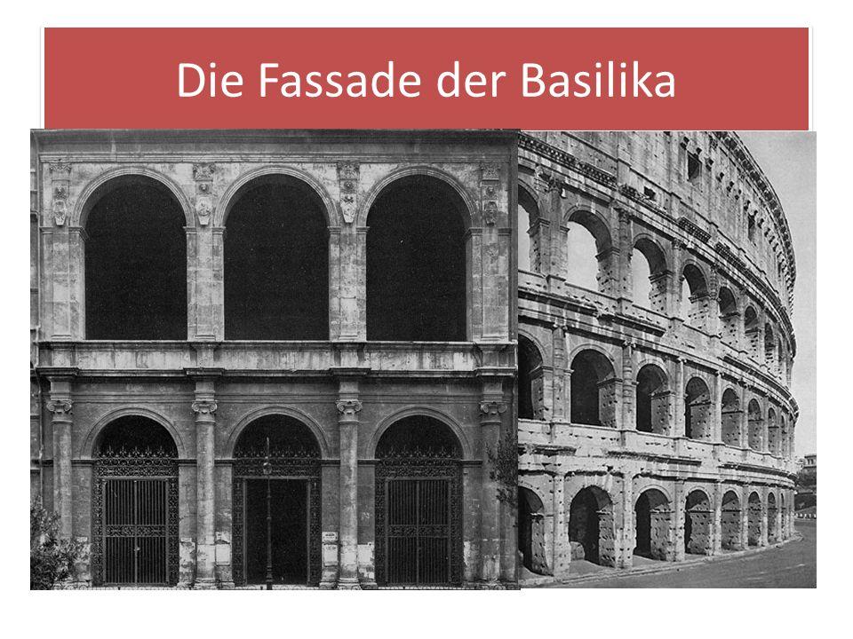 Die Fassade der Basilika