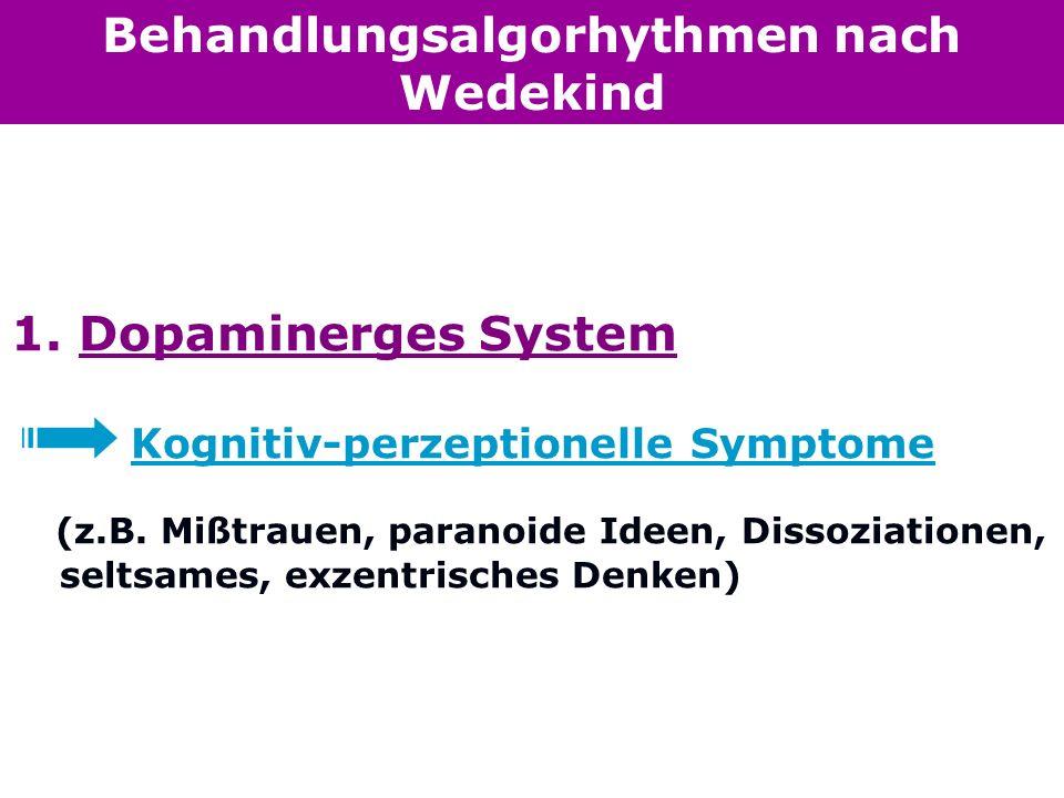 Behandlungsalgorhythmen nach Wedekind