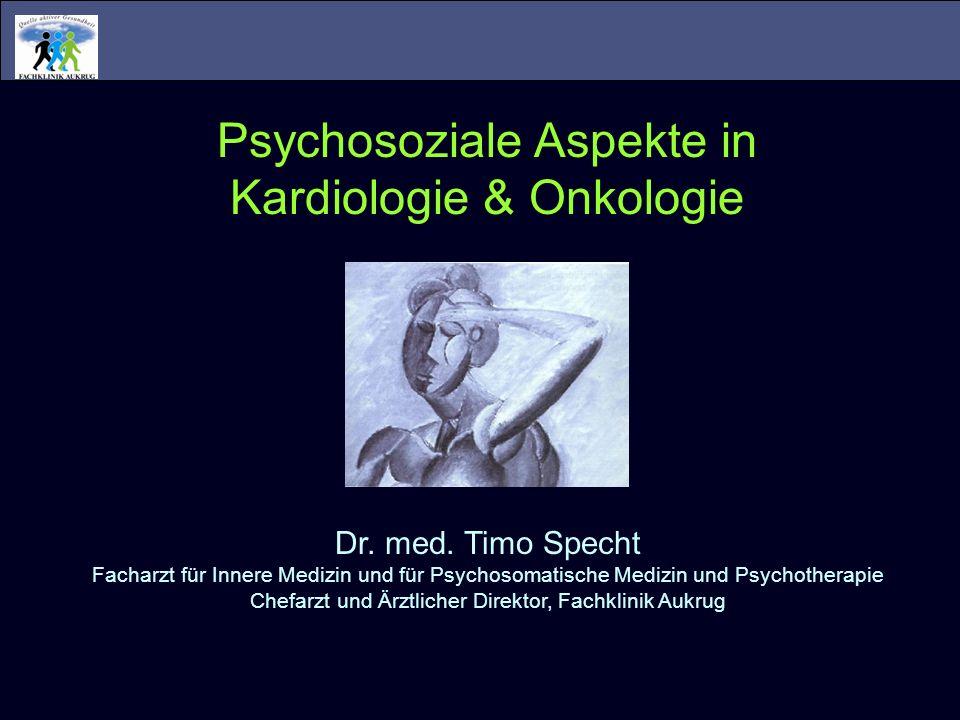 Psychosoziale Aspekte in Kardiologie & Onkologie