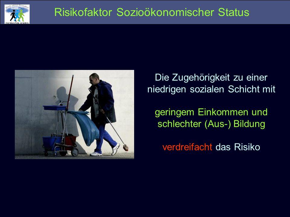 Risikofaktor Sozioökonomischer Status