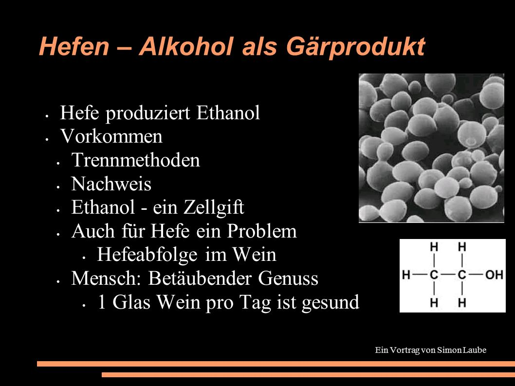 hefen alkohol als g rprodukt ppt video online. Black Bedroom Furniture Sets. Home Design Ideas
