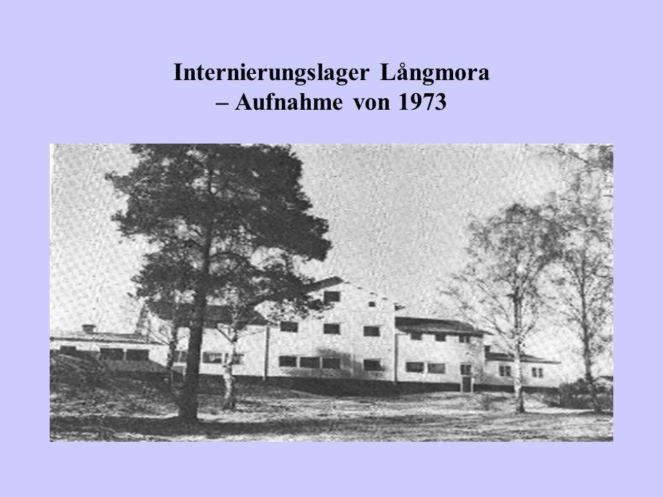 Internierungslager Långmora – Aufnahme von 1973