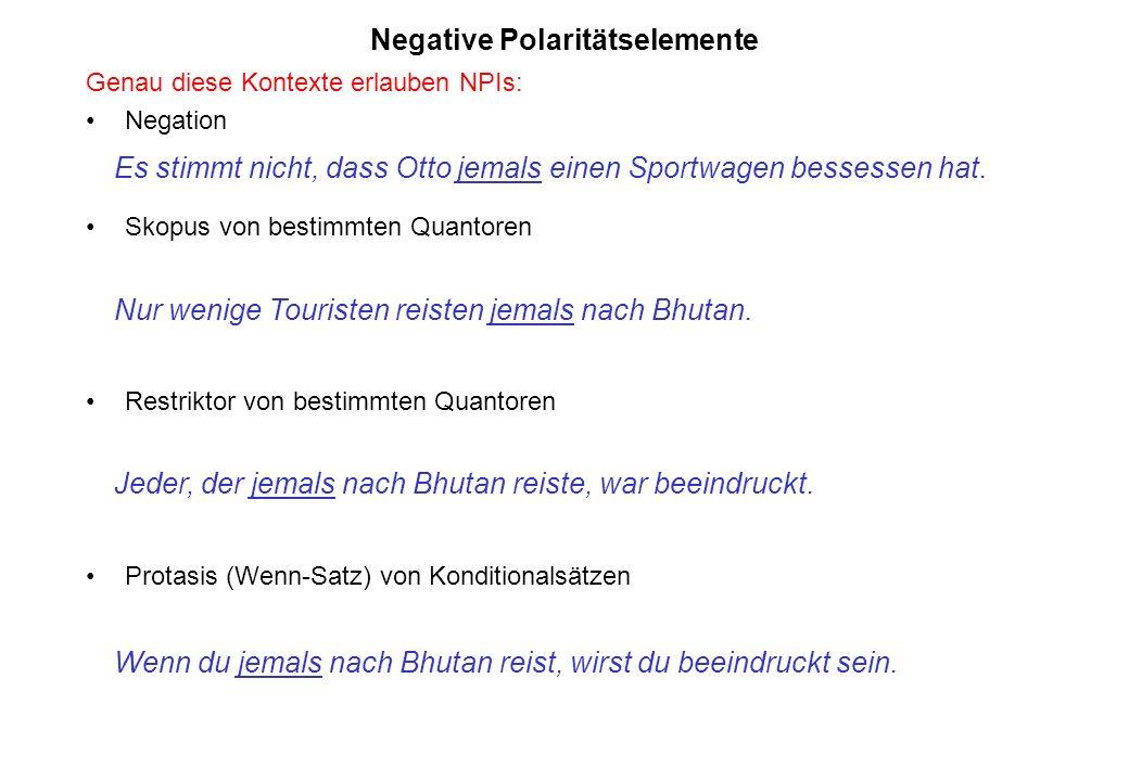 Negative Polaritätselemente