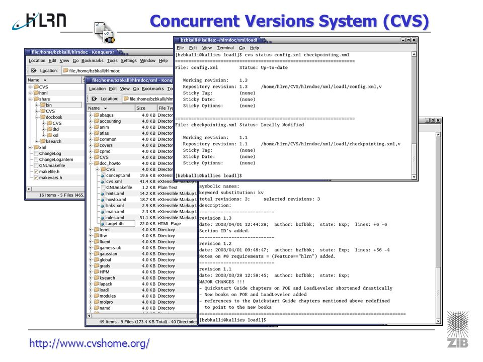 Concurrent Versions System (CVS)