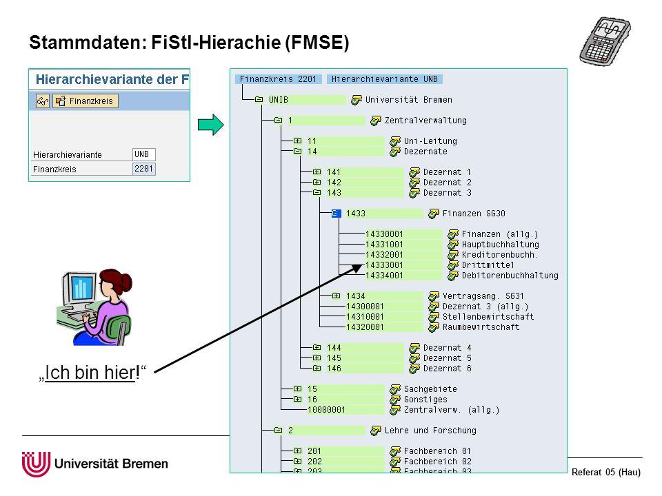 Stammdaten: FiStl-Hierachie (FMSE)