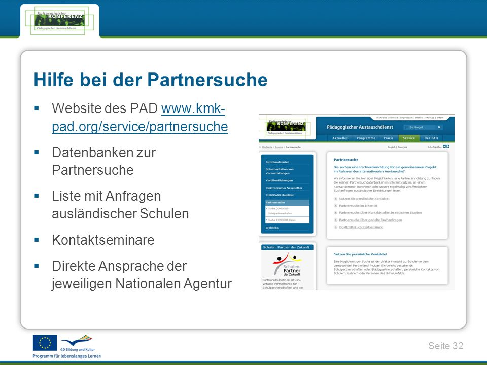 Hilfe bei der Partnersuche