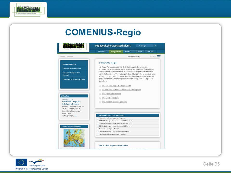 COMENIUS-Regio