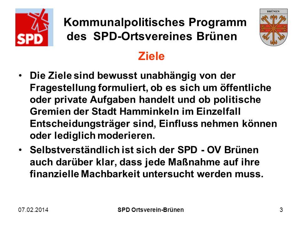 SPD Ortsverein-Brünen