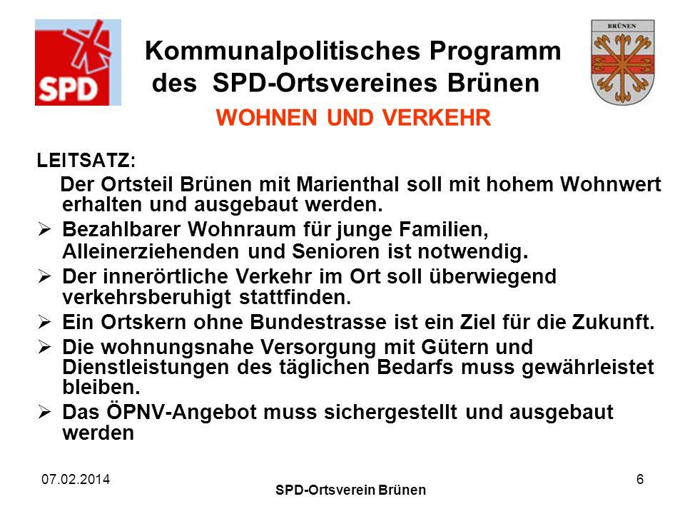 SPD-Ortsverein Brünen