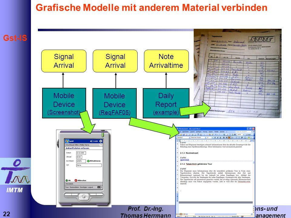 Grafische Modelle mit anderem Material verbinden