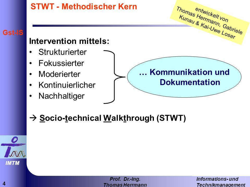 STWT - Methodischer Kern