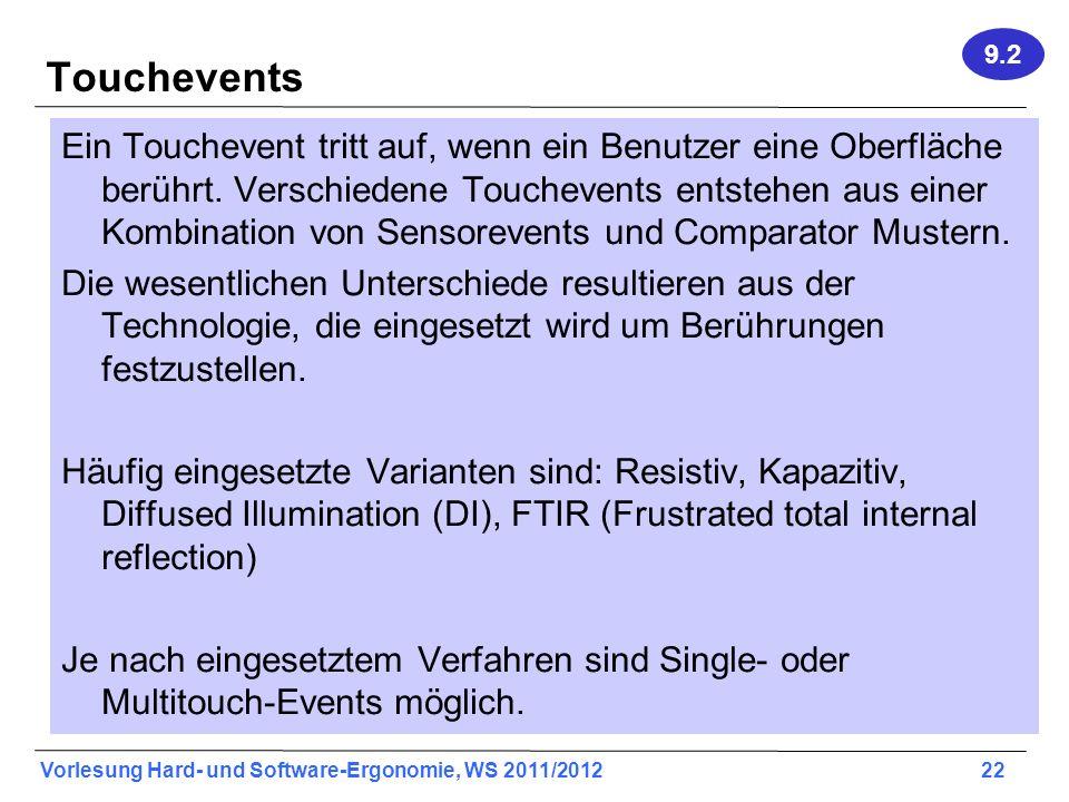 9.2 Touchevents.