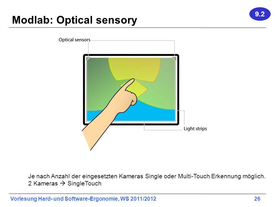 Modlab: Optical sensory