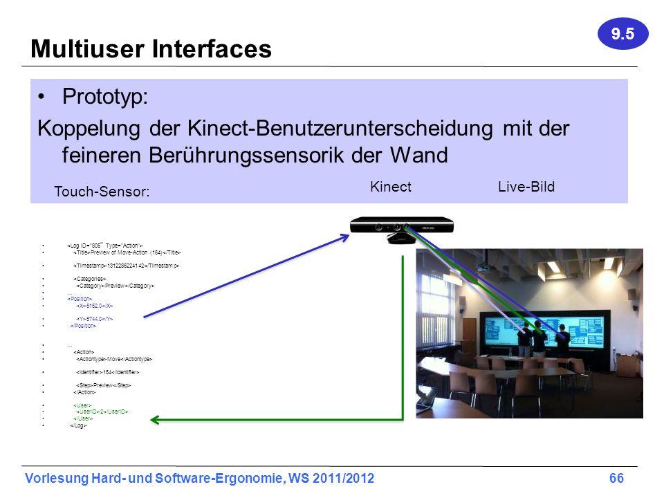 Multiuser Interfaces Prototyp: