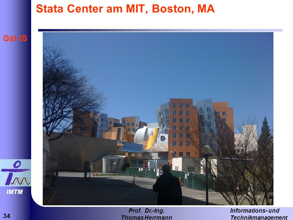 Stata Center am MIT, Boston, MA