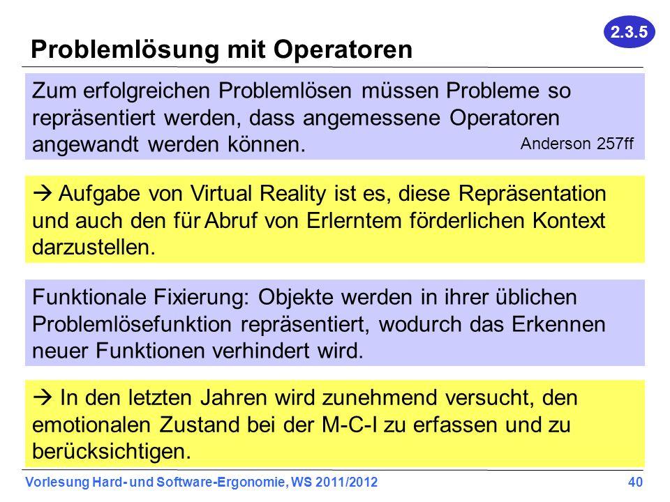Problemlösung mit Operatoren