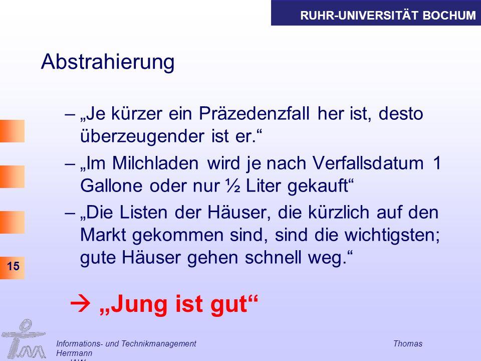 """ """"Jung ist gut Abstrahierung"""