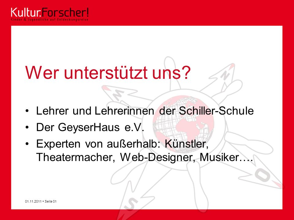 Wer unterstützt uns Lehrer und Lehrerinnen der Schiller-Schule