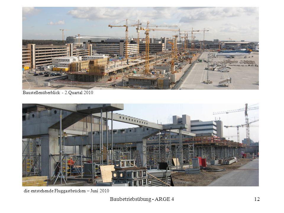 Baubetriebsübung - ARGE 4