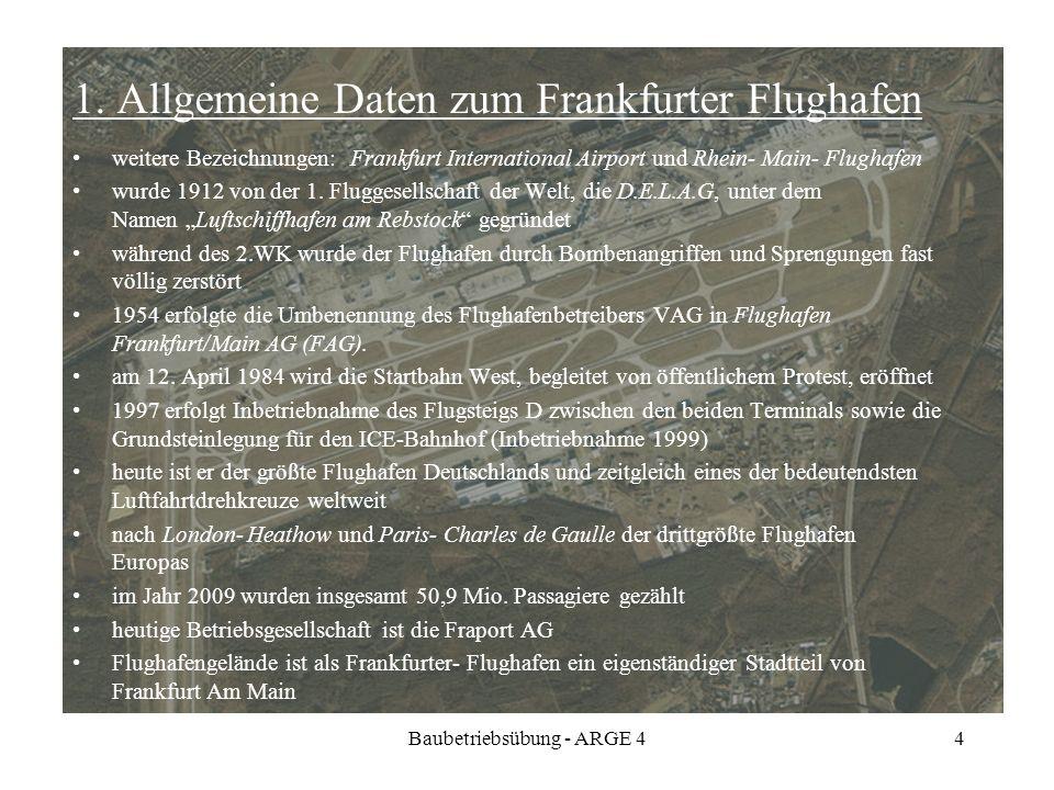 1. Allgemeine Daten zum Frankfurter Flughafen