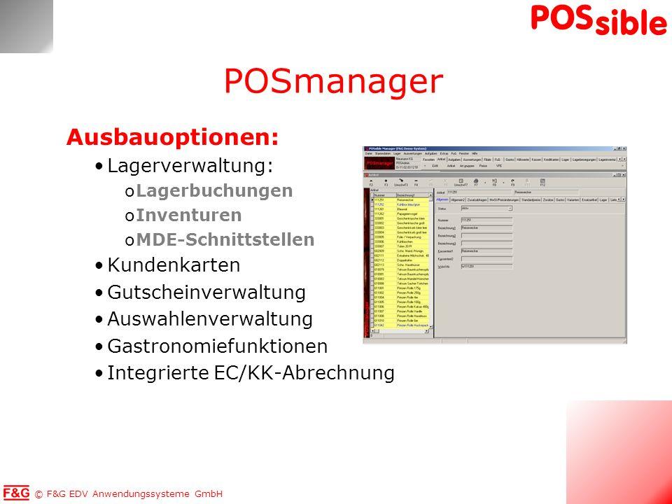 POSmanager Ausbauoptionen: Lagerverwaltung: Kundenkarten