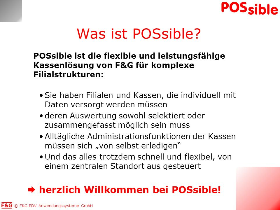 Was ist POSsible  herzlich Willkommen bei POSsible!