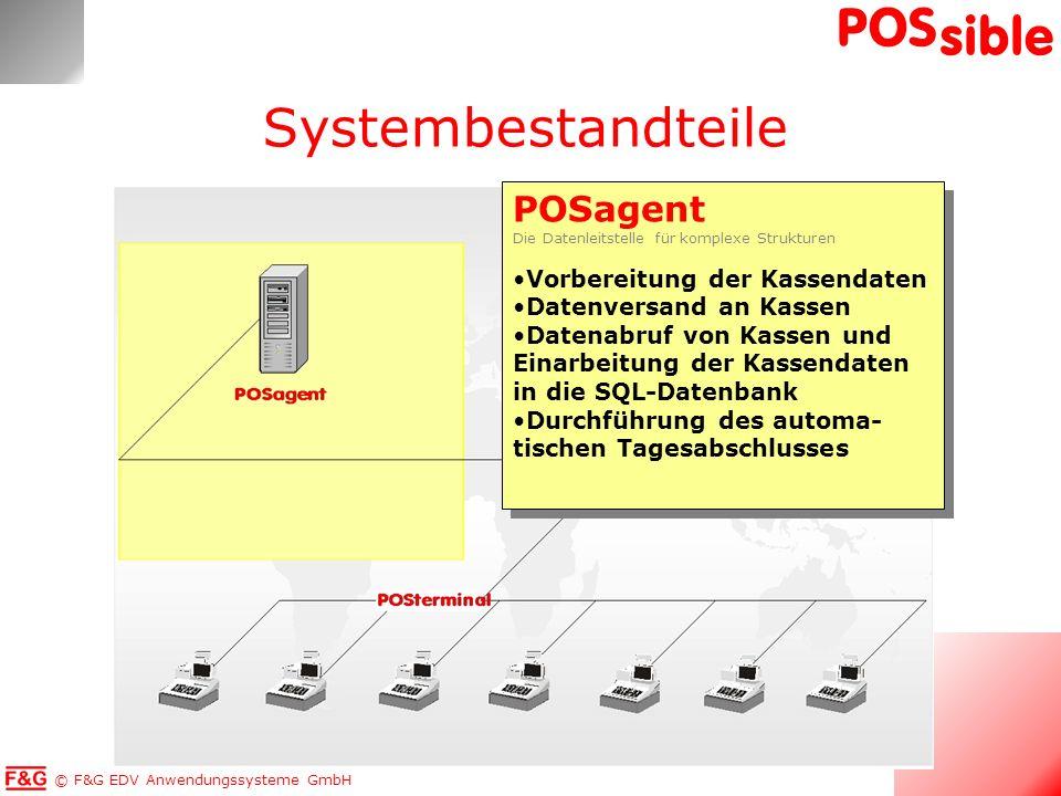 Systembestandteile POSagent Vorbereitung der Kassendaten