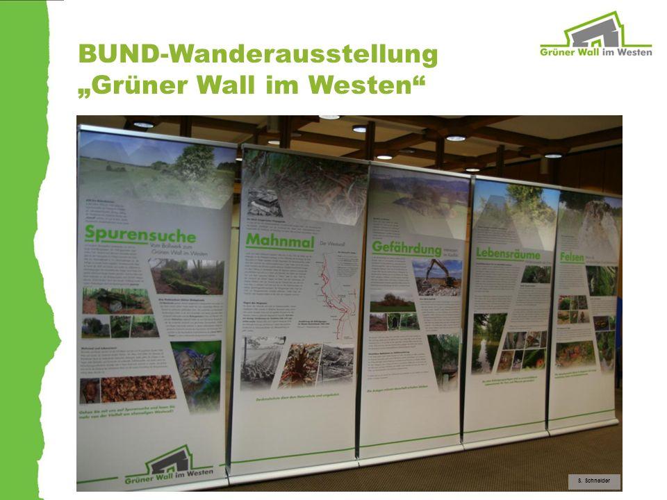 """BUND-Wanderausstellung """"Grüner Wall im Westen"""