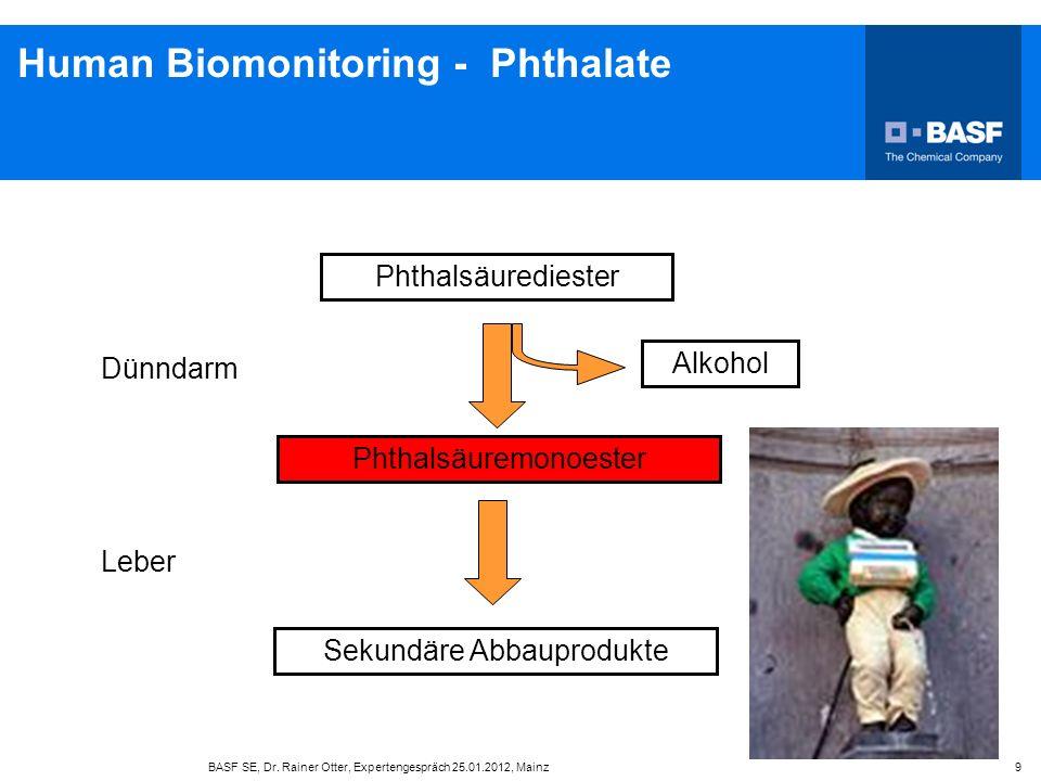 Human Biomonitoring - Phthalate