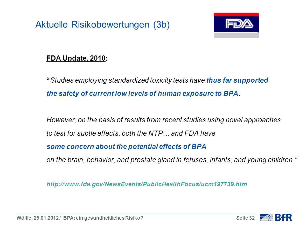 Aktuelle Risikobewertungen (3b)