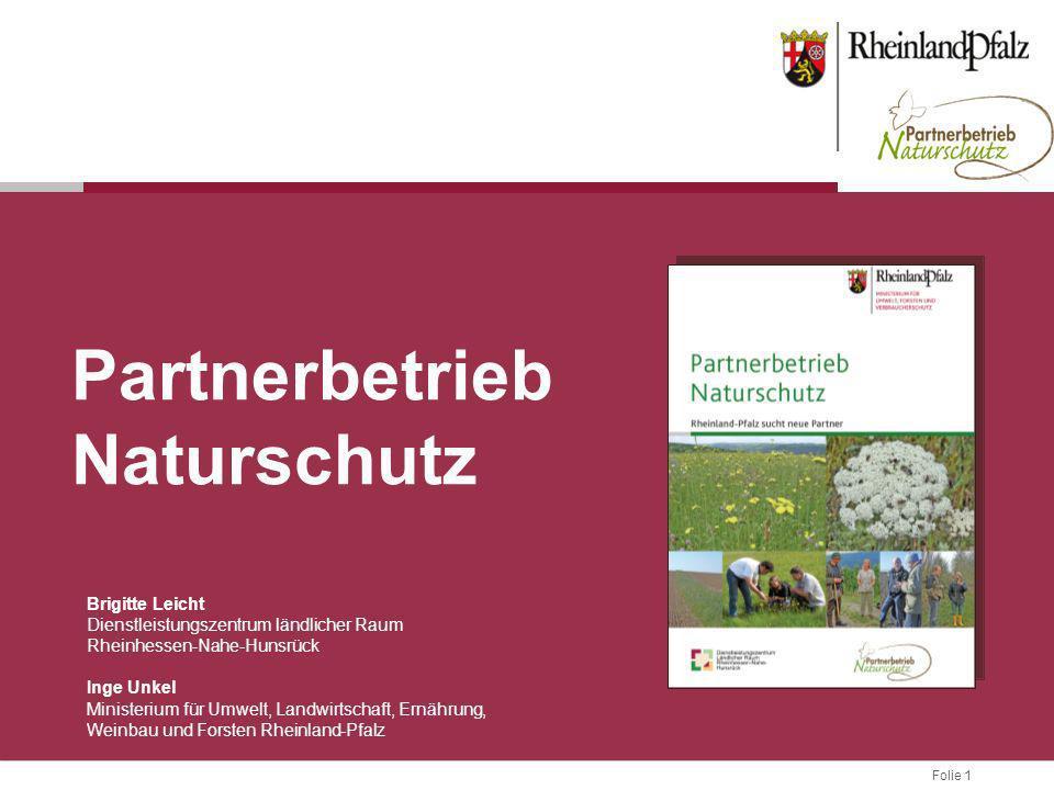 Partnerbetrieb Naturschutz